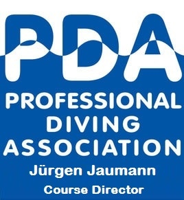 PDA Professional Diving Association Jürgen Jaumann
