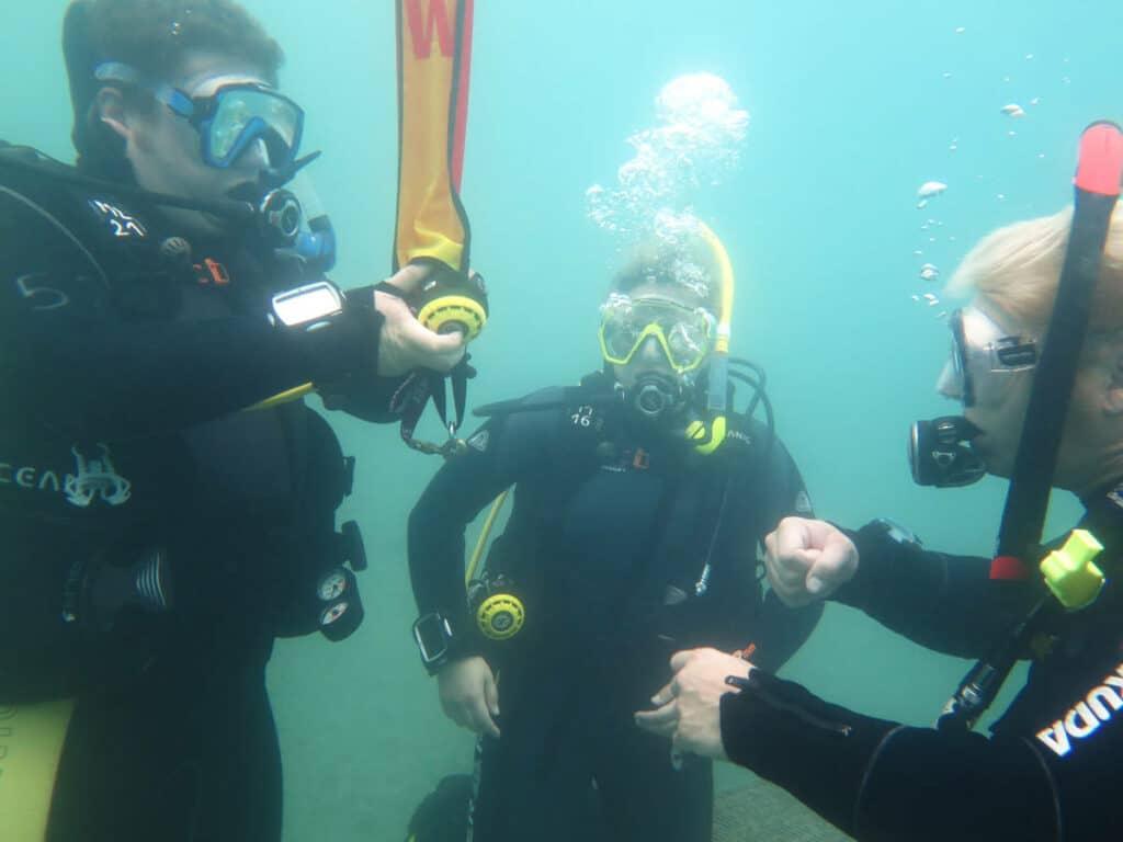 Tauschschule GoProDive Einsteiger Tauchkurs Open Water Diver